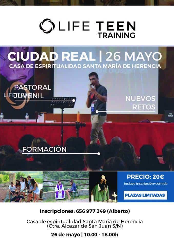 Curso sobre Life Teen Trainin en Herencia - Herencia sede de un entrenamiento en Life Teen para toda la diócesis