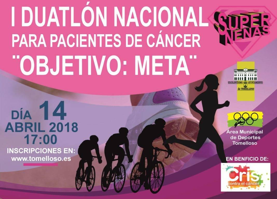 """El colectivo Supernenas organiza el I Duatlon """"Objetivo Meta"""" 4"""