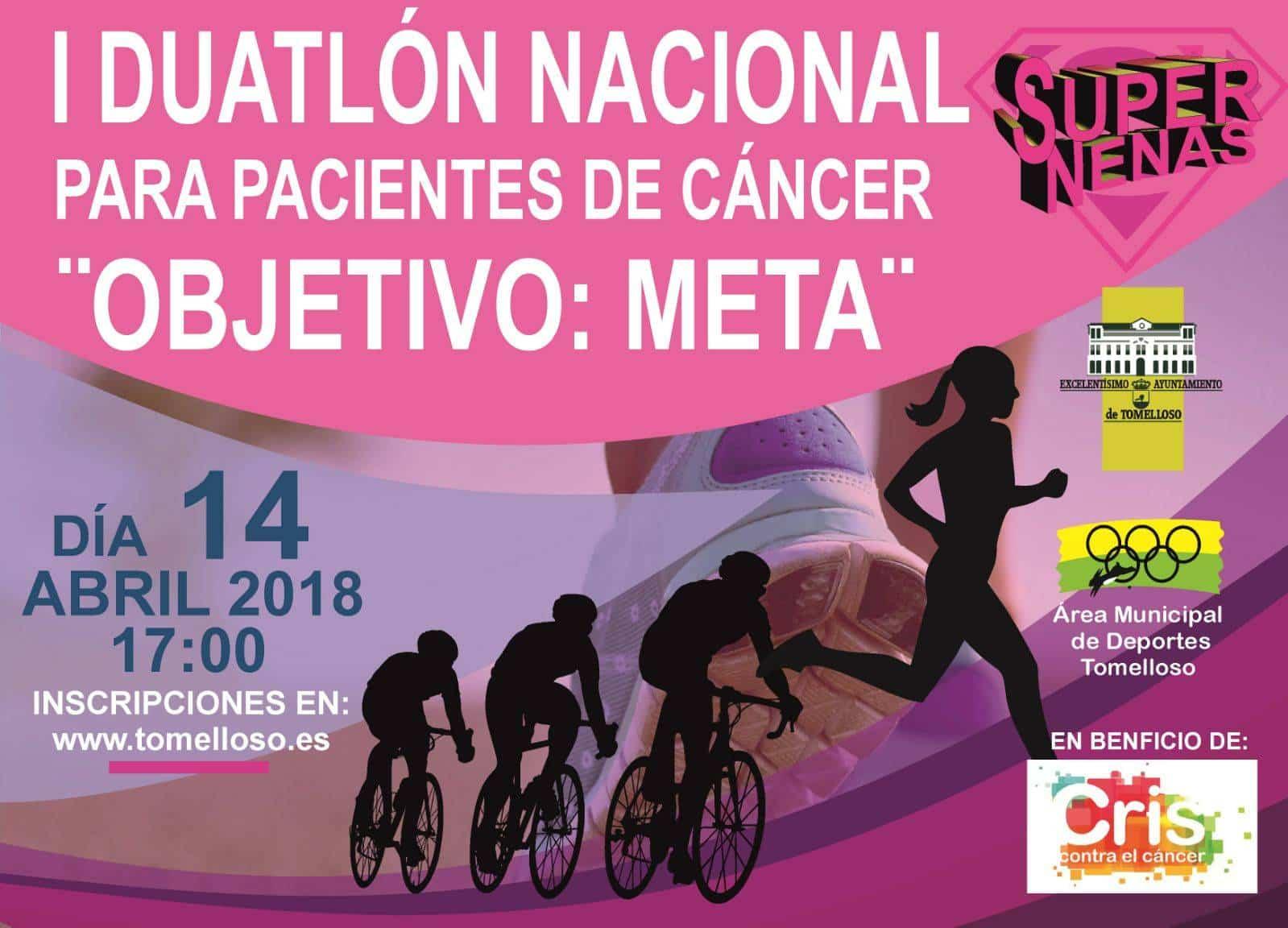 """Duatlon Supernenas objetivo meta - El colectivo Supernenas organiza el I Duatlon """"Objetivo Meta"""""""
