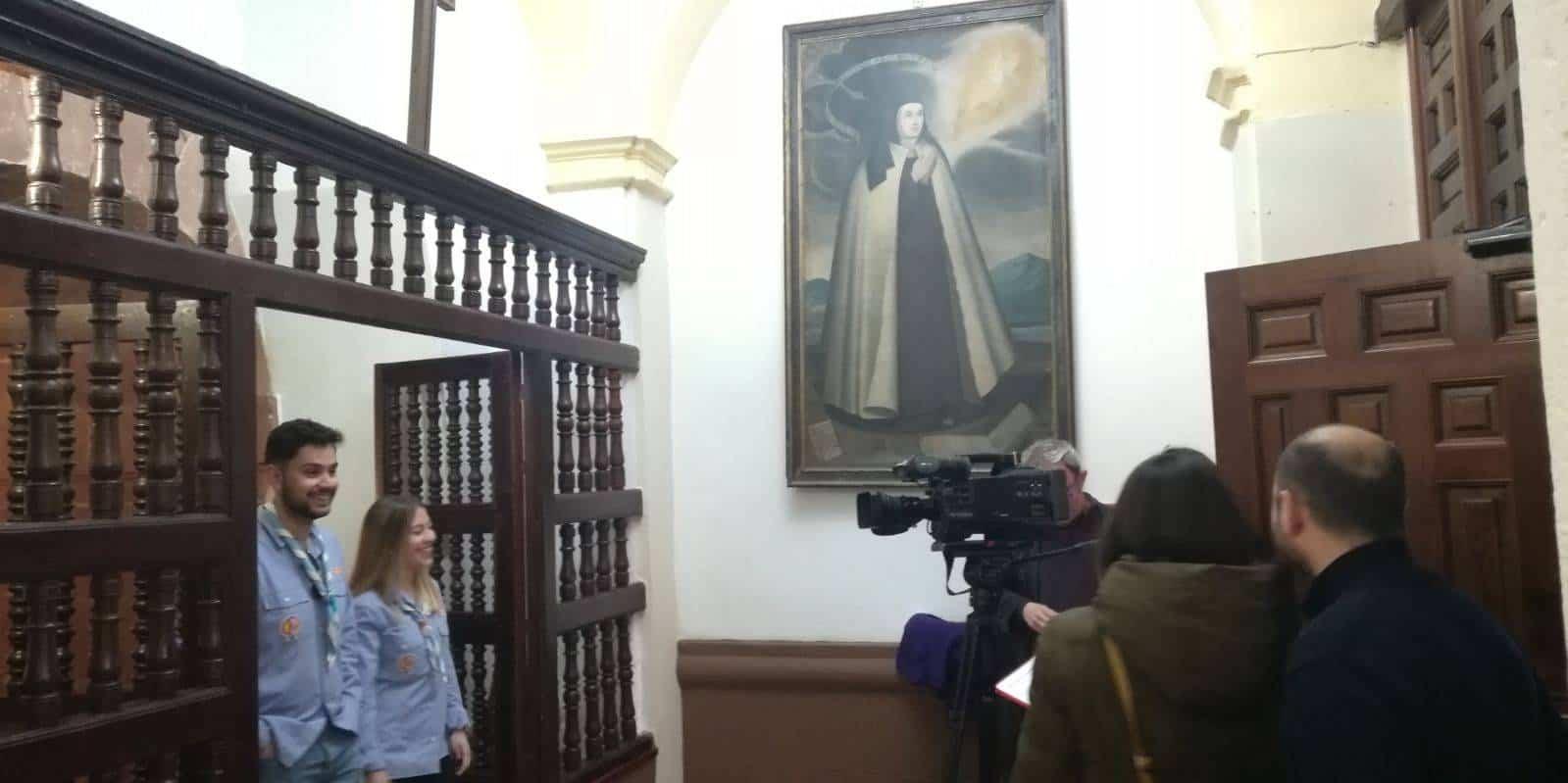 Mancha Centro Television en la parroquia de Herencia 1 - Mancha Centro Televisión emite un especial sobre la parroquia de Herencia