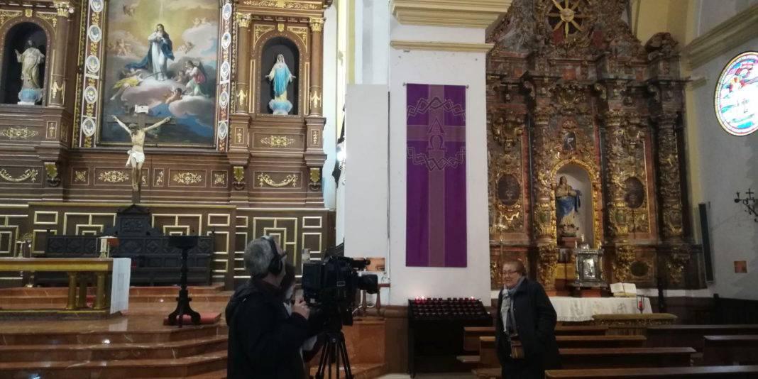 Mancha Centro Television en la parroquia de Herencia  1068x534 - Mancha Centro Televisión emite un especial sobre la parroquia de Herencia