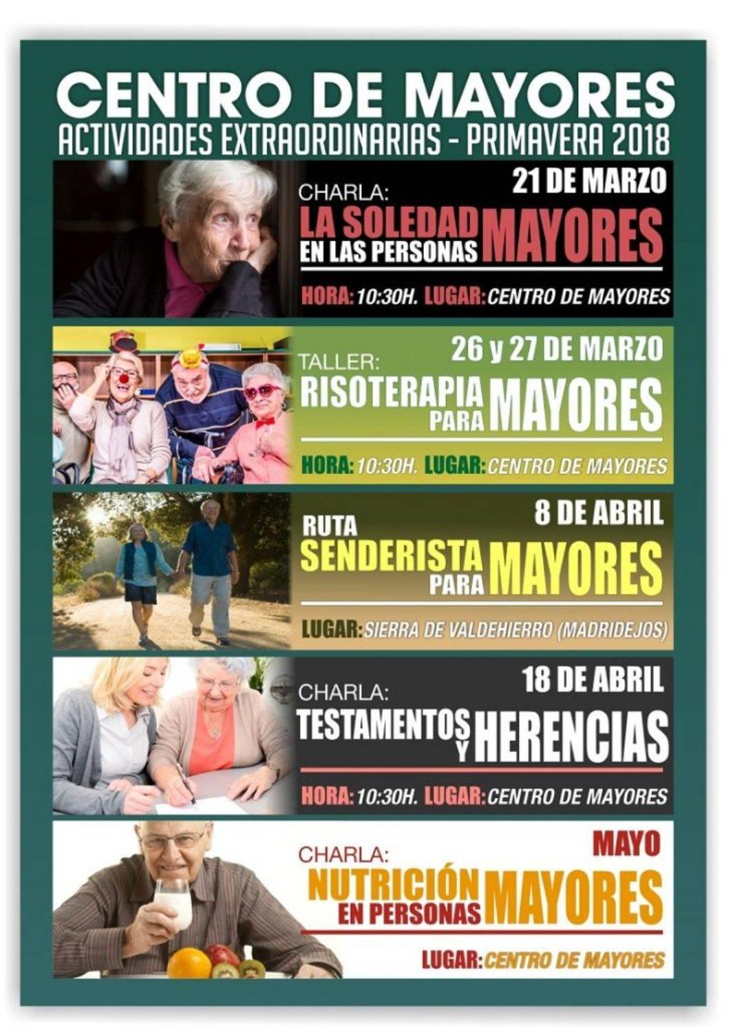 El Centro de Mayores organiza nuevas actividades para primavera 7