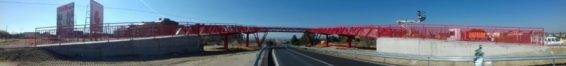 Pasarela peatonal de Grupo Alvarez en Madrid3 566x66 - Grupo Álvarez monta una pasarela peatonal sobre la M-513 en Boadilla del Monte