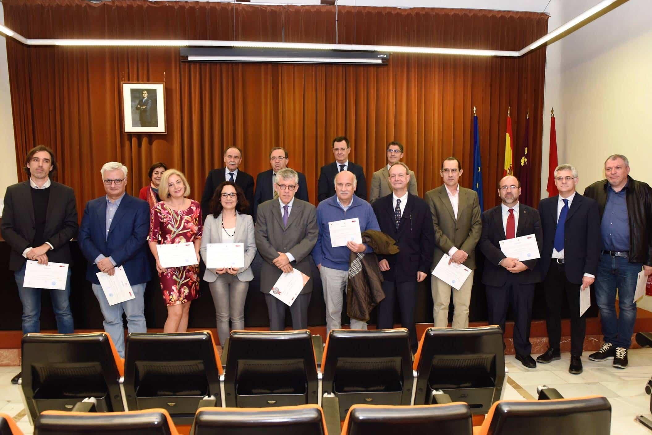Premiados por la UMU Jose Maria Moraleda - La universidad de Murcia premia a José María Moraleda