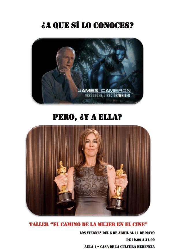 Taller de Cine Universidad Popular Herencia - La Universidad Popular dedica un monográfico a la mujer en el cine