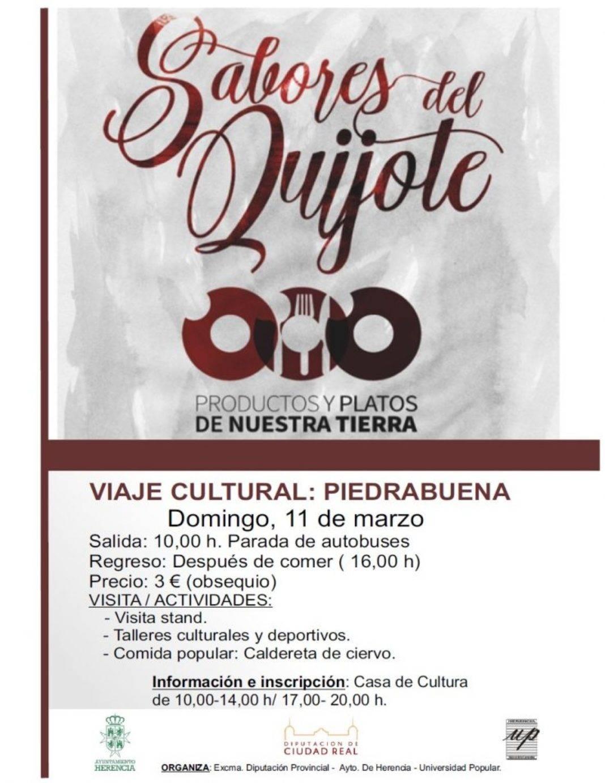 """Viaje a Piedrabuen para conocer los Sabores del Quijote 1068x1382 - Viaje a Piedrabuena para conocer """"Los Sabores del Quijote"""""""