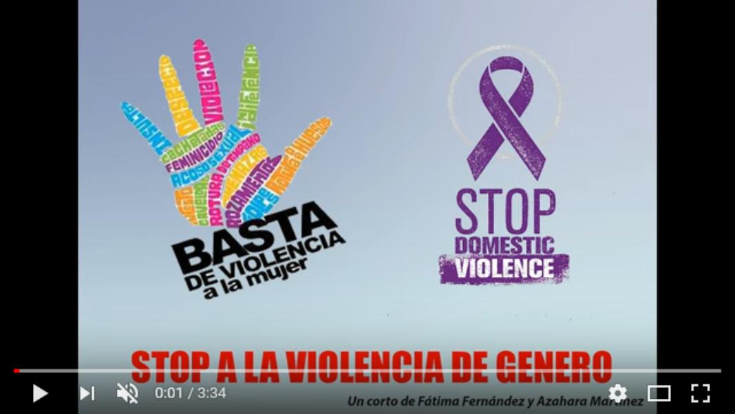 Violencia de género, cortometraje de Fátima y Azahara para el IES Hermógenes Rodríguez 4