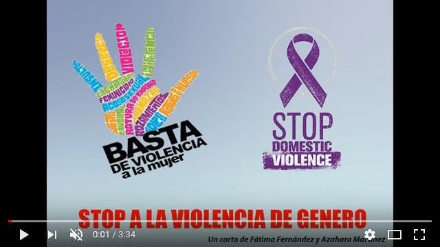 Violencia de género, cortometraje de Fátima y Azahara para el IES Hermógenes Rodríguez 3