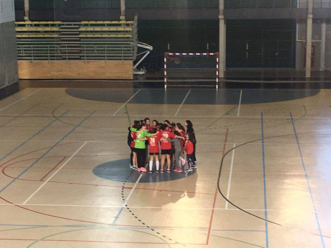 Alevín Femenino de Balonmano se clasifica para la final provincial 7