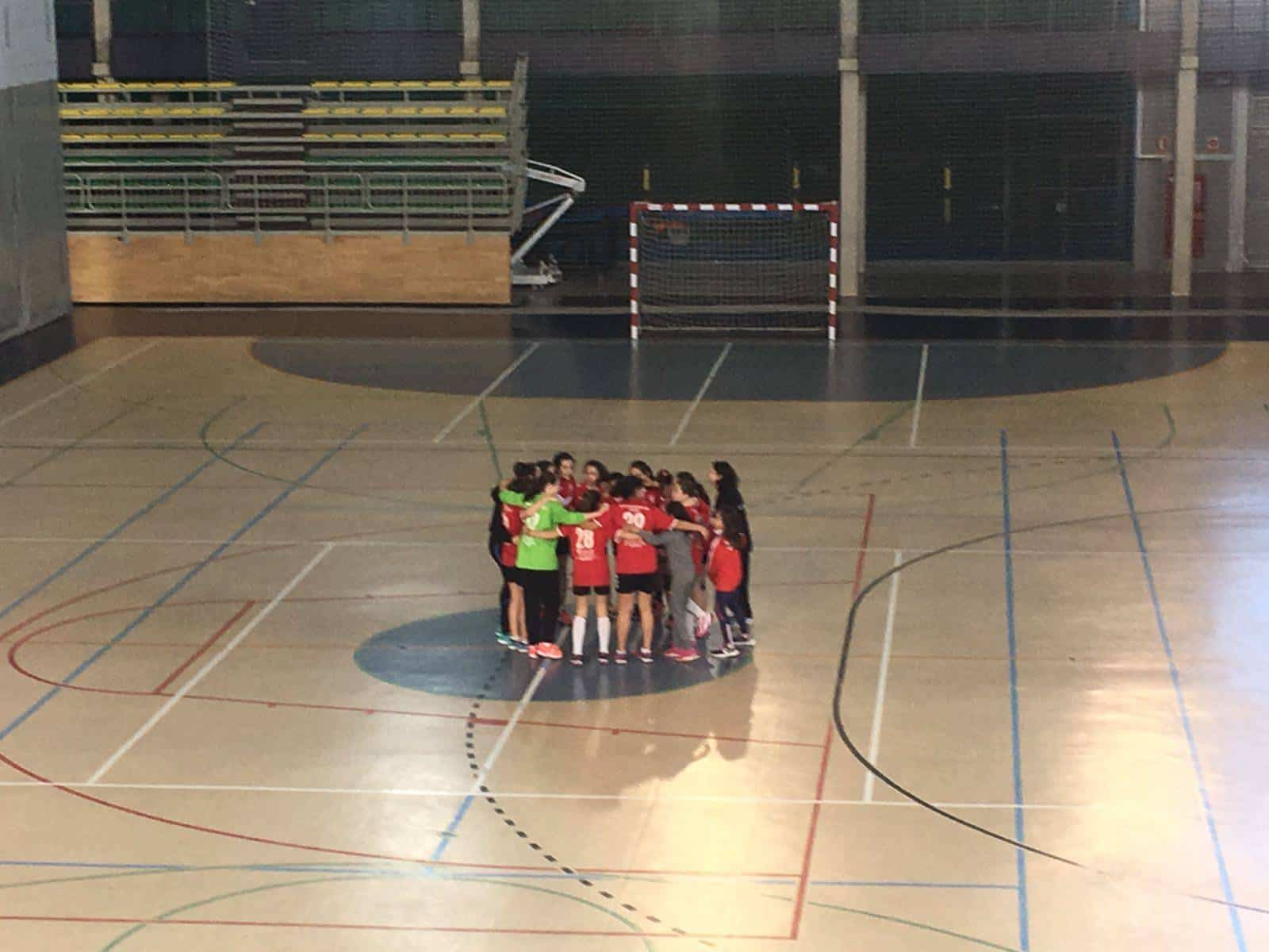 alevin balonmano herencia clasificado - Alevín Femenino de Balonmano se clasifica para la final provincial