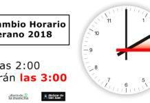 Cambio al Horario de Verano en 2018: A las 2:00 serán las 3:00