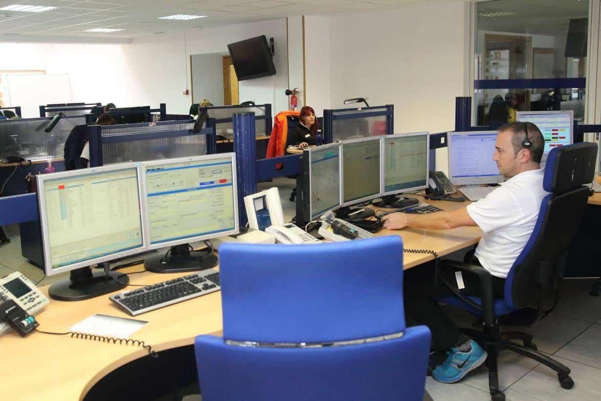centro control meteocam - Desactivado el nivel de alerta METEOCAM tras registrarse 30 incidentes por viento en la región
