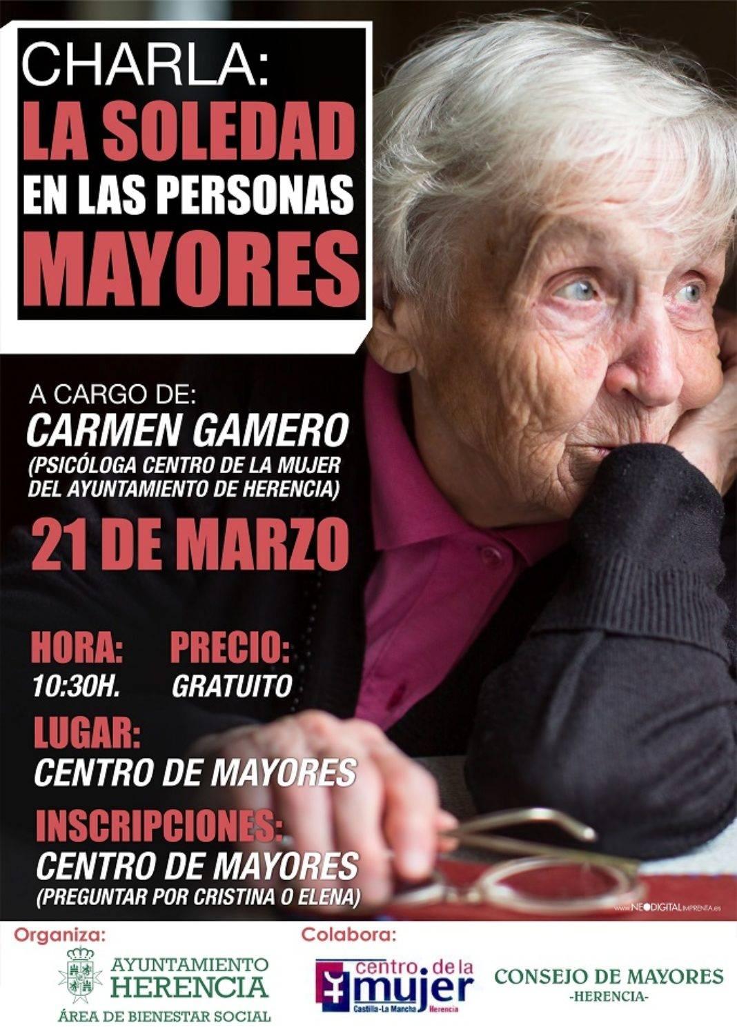 Charla sobre la soledad en las personas mayores 4