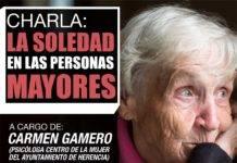Charla sobre la soledad en las personas mayores
