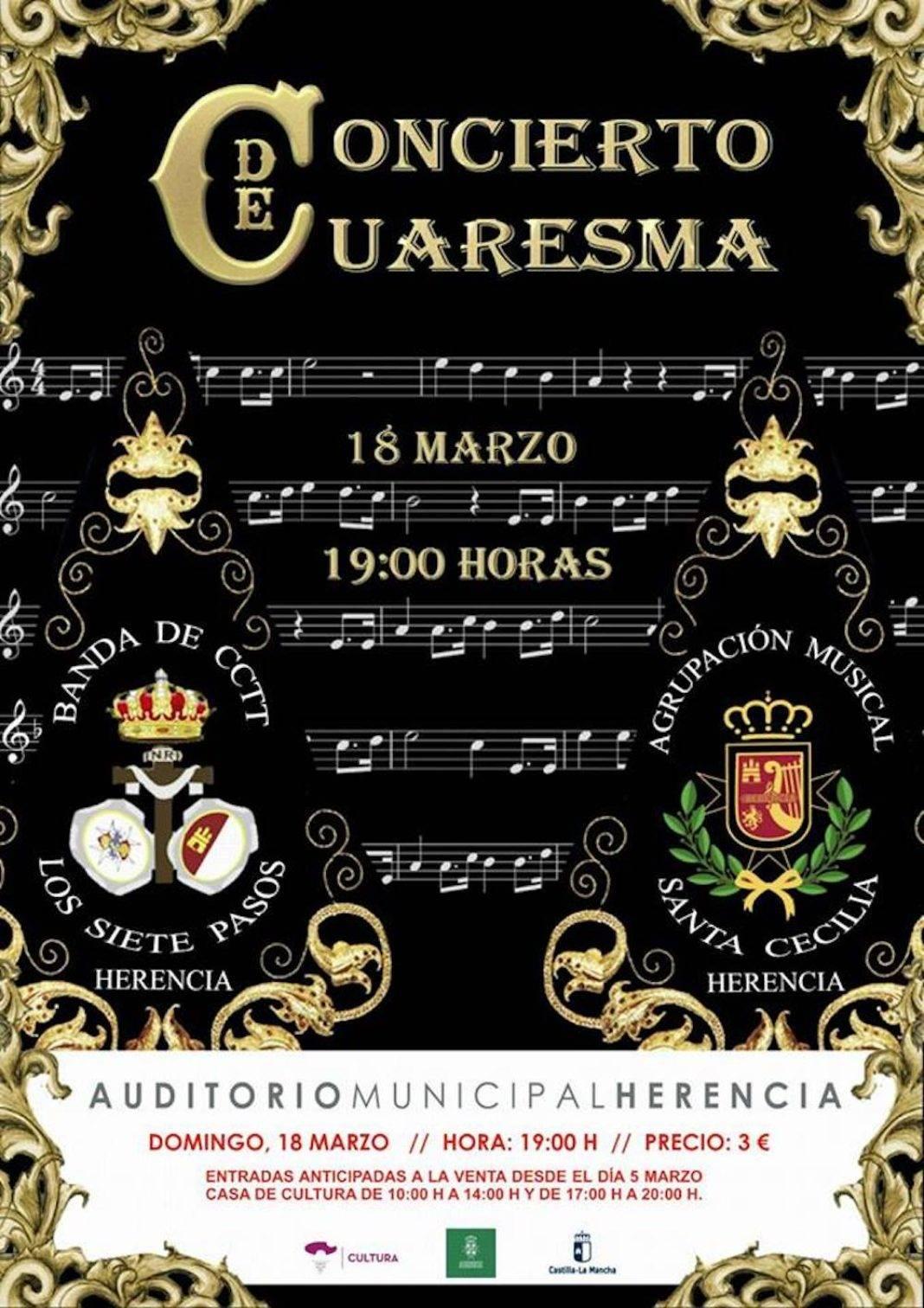 concierto cuaresma 2018 1068x1512 - Concierto de Cuaresma el próximo domingo 18 de marzo