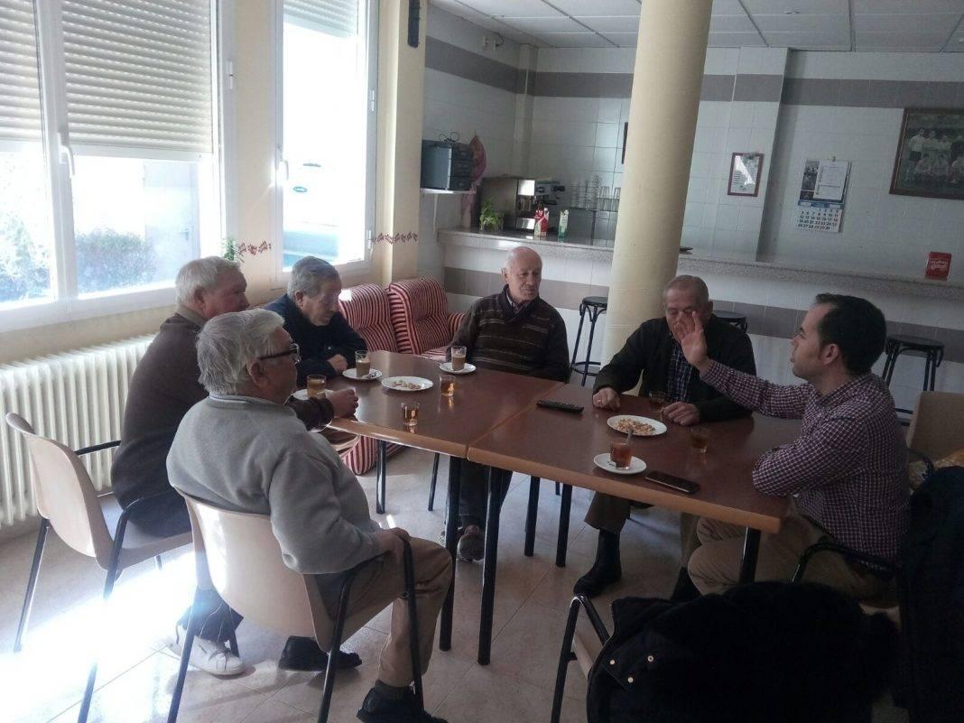 Nueva reunión del alcalde con el Consejo de Mayores de Herencia 4