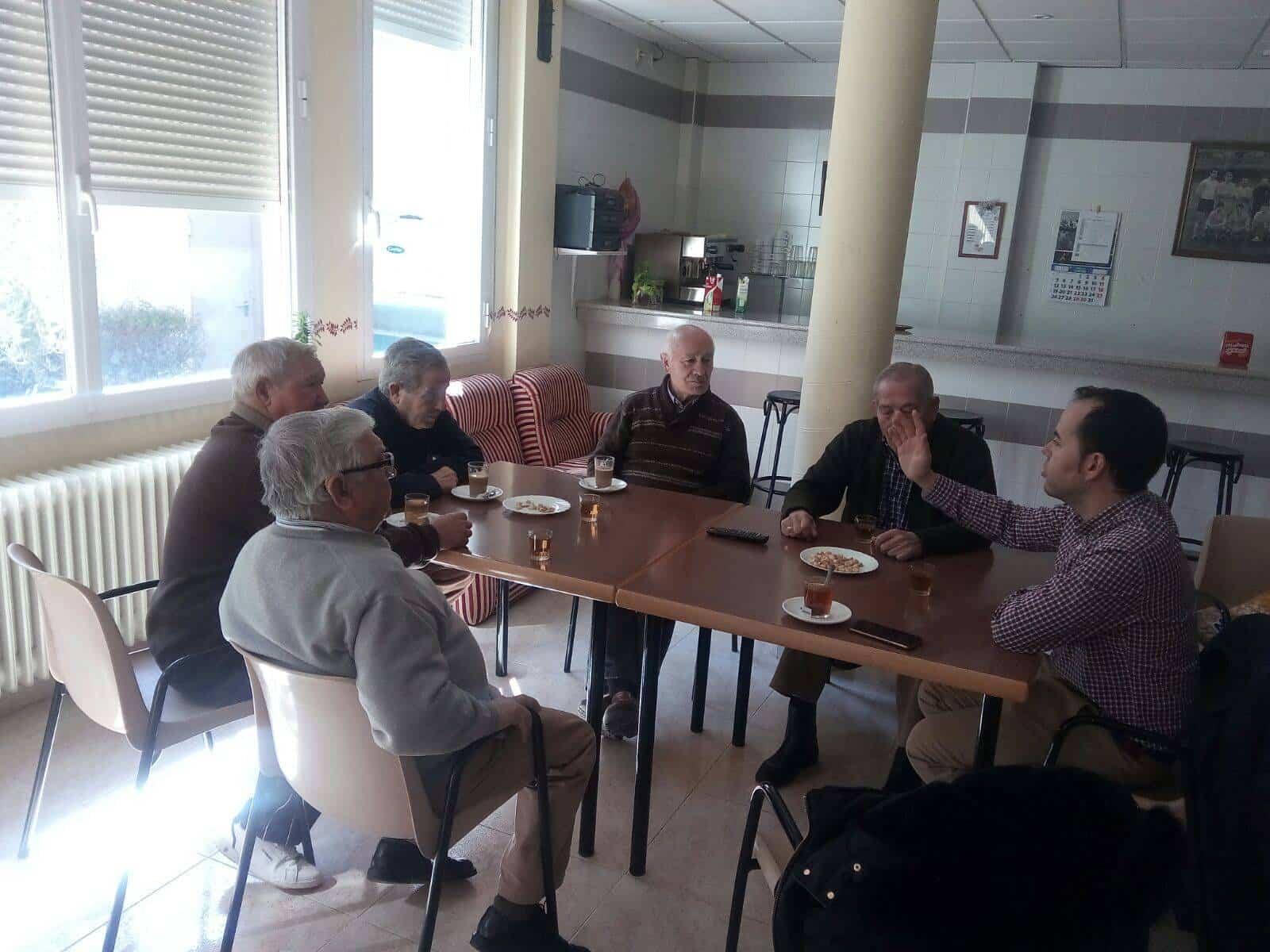 Nueva reunión del alcalde con el Consejo de Mayores de Herencia 3