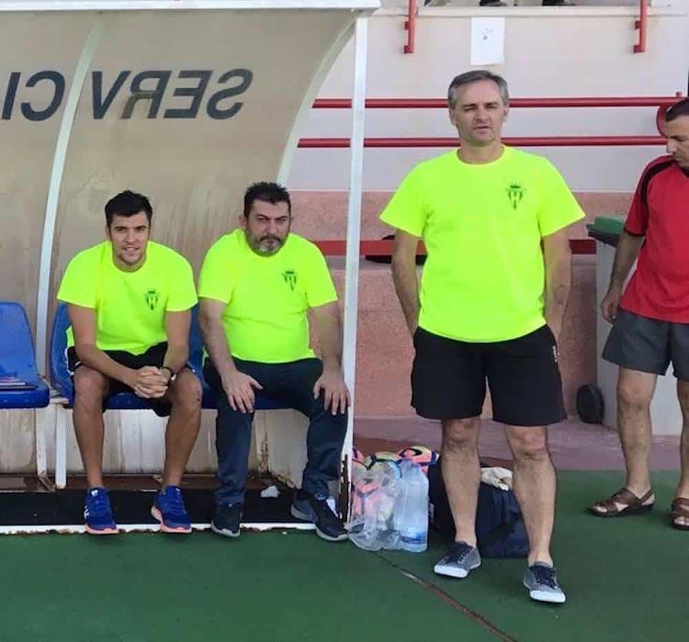 Chechu nuevo entrenador del primer equipo del Herencia C.F. 5