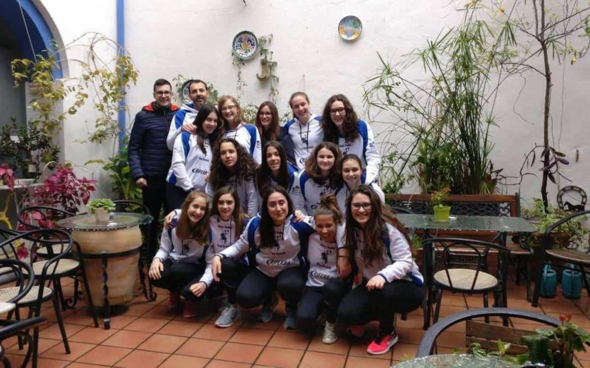 equipo infantil femenino balonmano herencia - Balonmano Femenino de Herencia en Córdoba Handball Cup