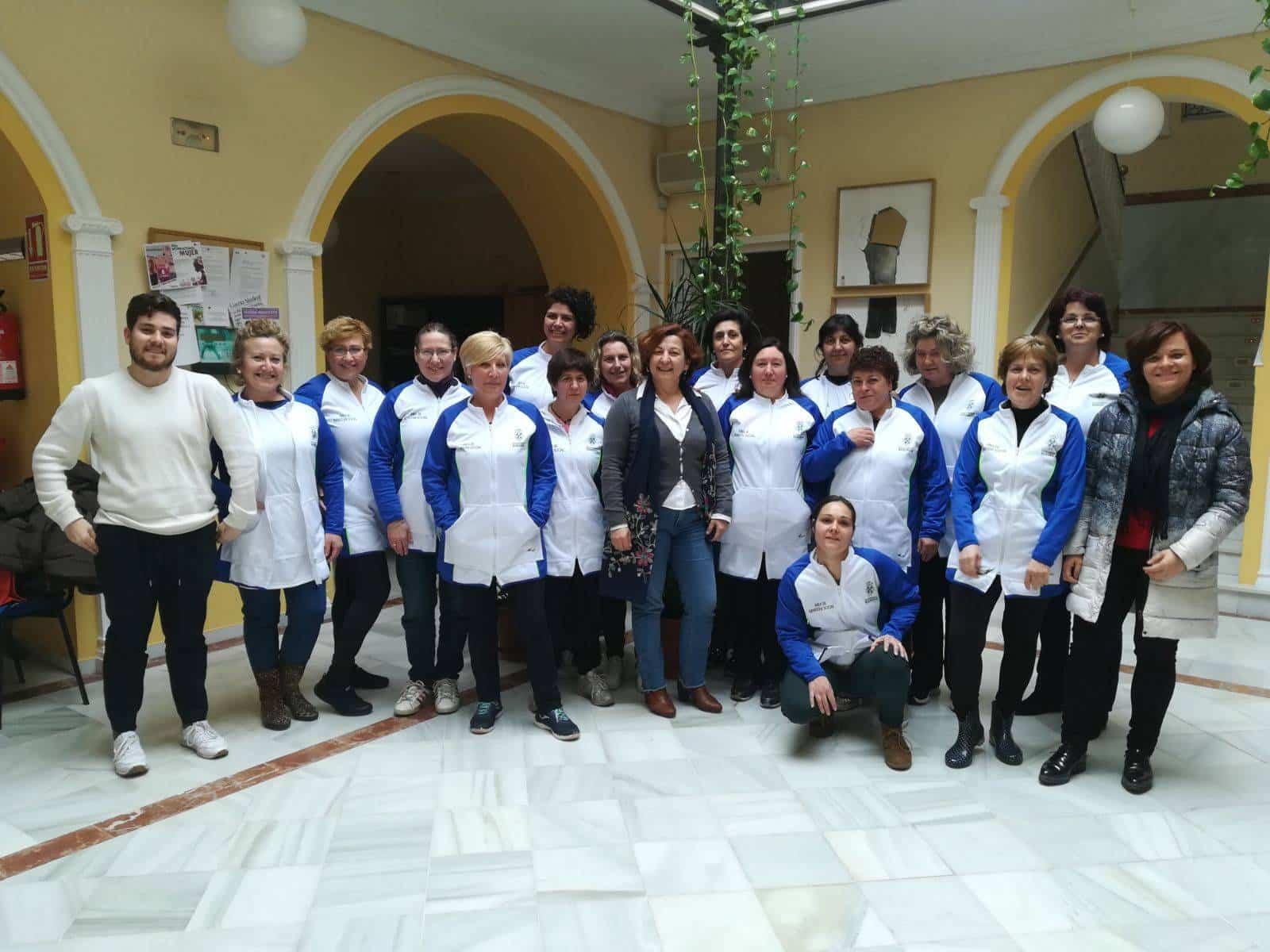 equipo servicio ayuda domicilio herencia - Servicio de Ayuda a Domicilio de Herencia se reestructura