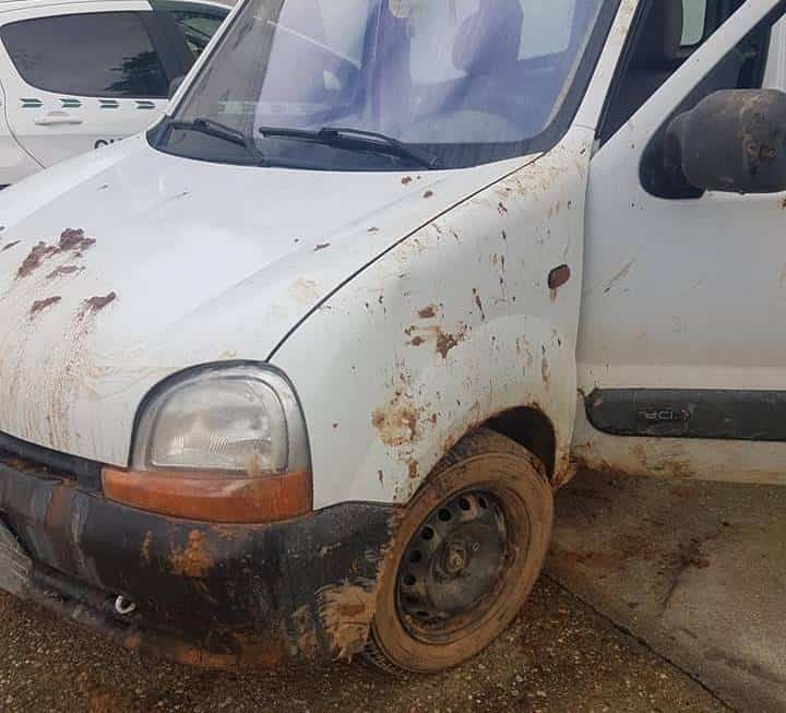 furgoneta robada recuperada - Recuperada la furgoneta que fue robada en Herencia