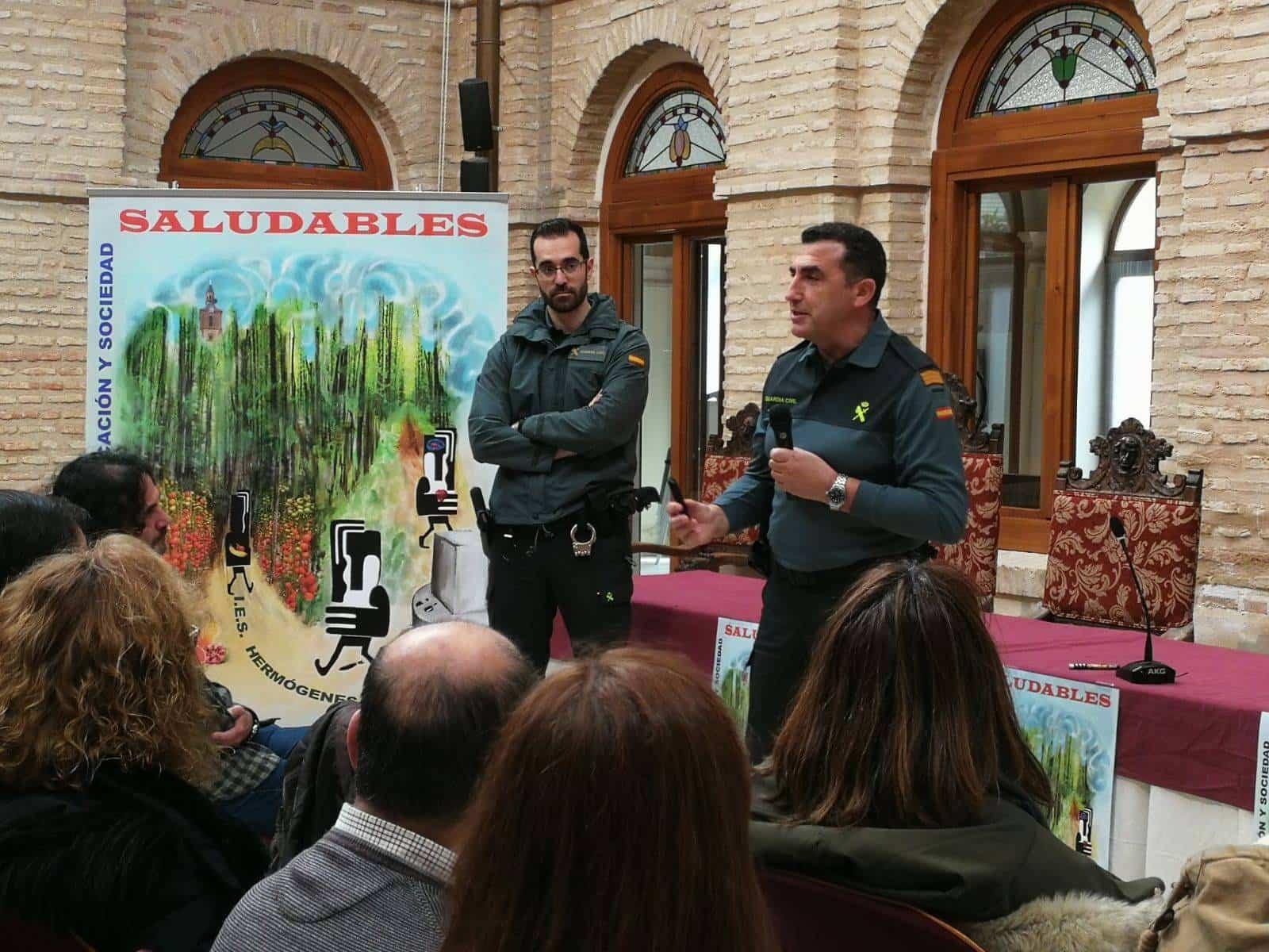 """guardia civil herencia - 4ª Jornada: XXII Jornadas de Educaciones y Sociedad """"Saludables"""""""