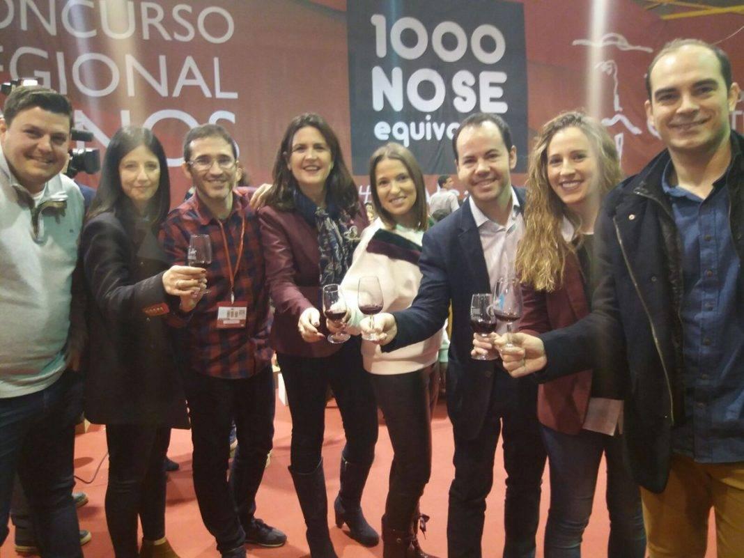 """herencia en 1000 no se equivocan 1068x801 - Herencia en el IX edición de Concurso Regional de Vinos Tierra del Quijote """"1000 no se equivocan"""""""