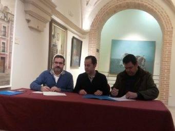 herencia firma convenio empresa y mancha norte promancha