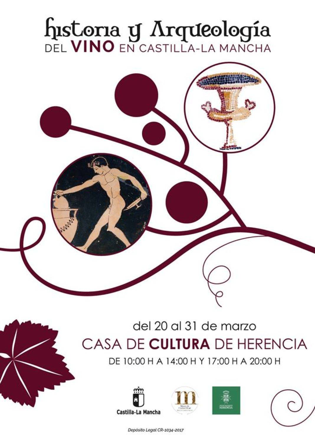 historia y arqueologia del vino en CLM 1068x1510 - Herencia acoge una exposición sobre la historia del vino