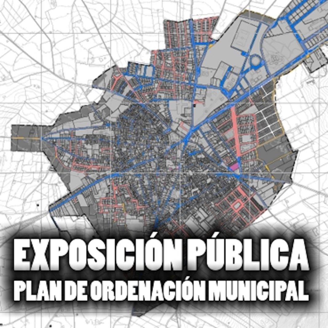 Exposición pública del Plan de Ordenación Municipal 1