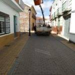 Herencia prepara sus calles para los pasos de Semana Santa 2