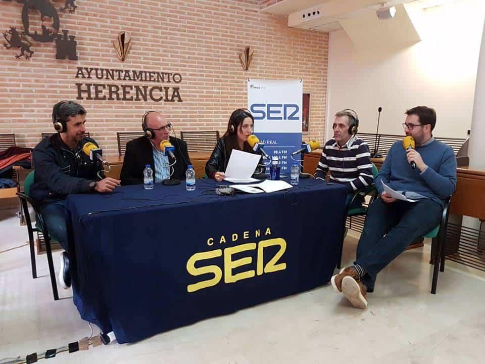 programa hoy por hoy en Herencia - Cadena Ser dedica un especial a la Semana Santa de Herencia