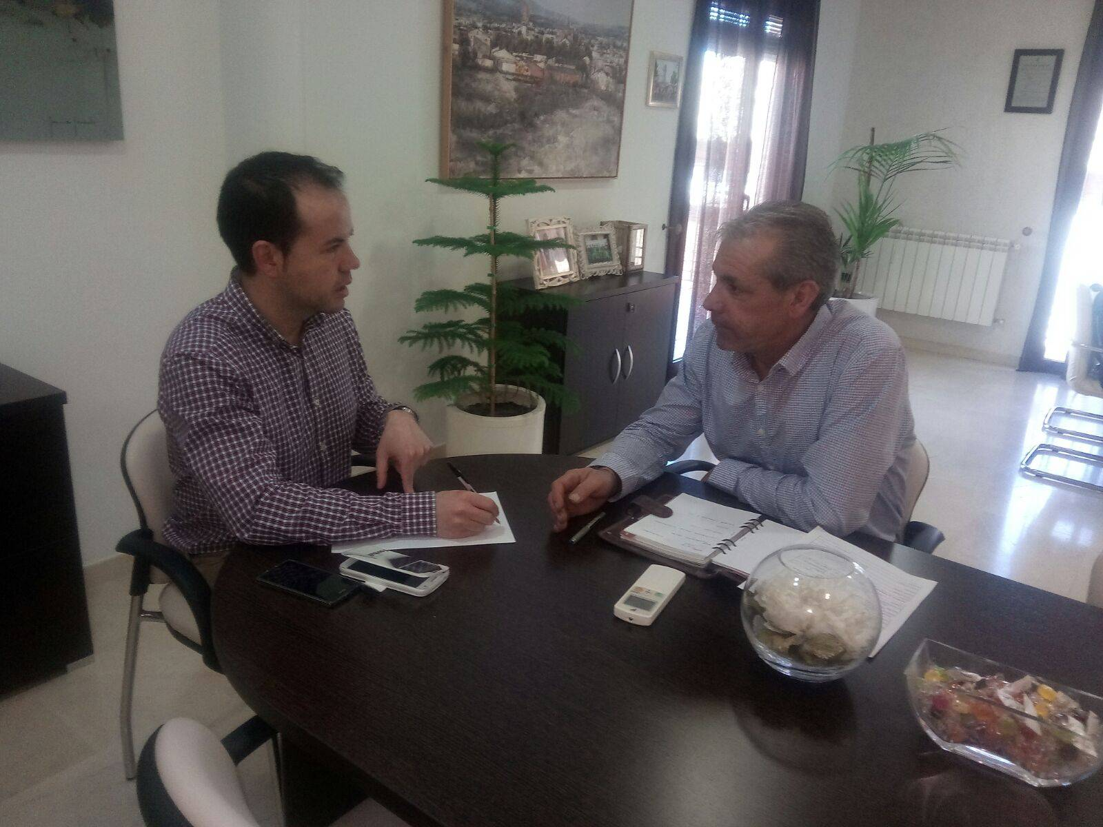 reunion ayuntamiento junta hermandades 2018 - Reunión del Ayuntamiento con la Junta de Hermandades por Semana Santa 2018
