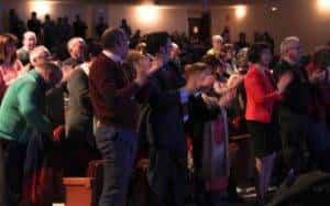 semana santa 2018 alcazar 3 300x187 - Enrique Mora pregonó la presentación de la Semana Santa alcazareña