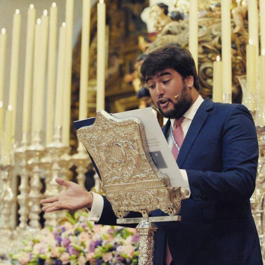El sevillano Álvaro Carmona López pregonero de Vísperas de El Santo 4