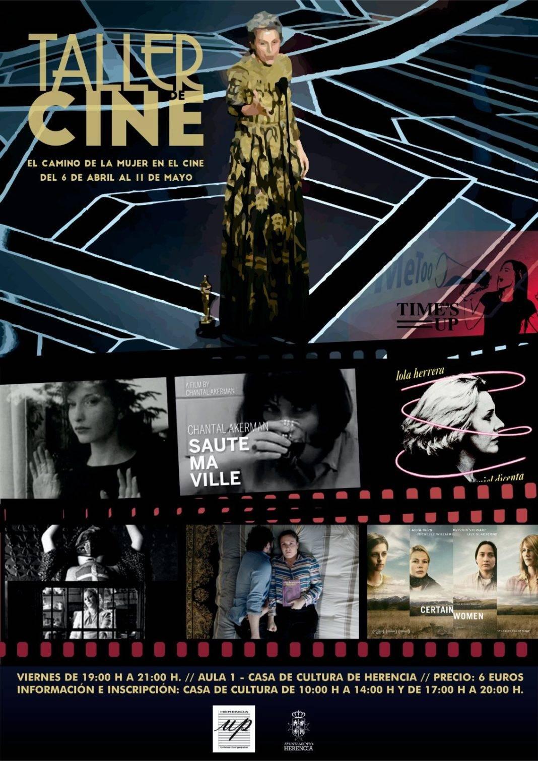taller de cine universidad popular 1068x1511 - La Universidad Popular dedica un monográfico a la mujer en el cine