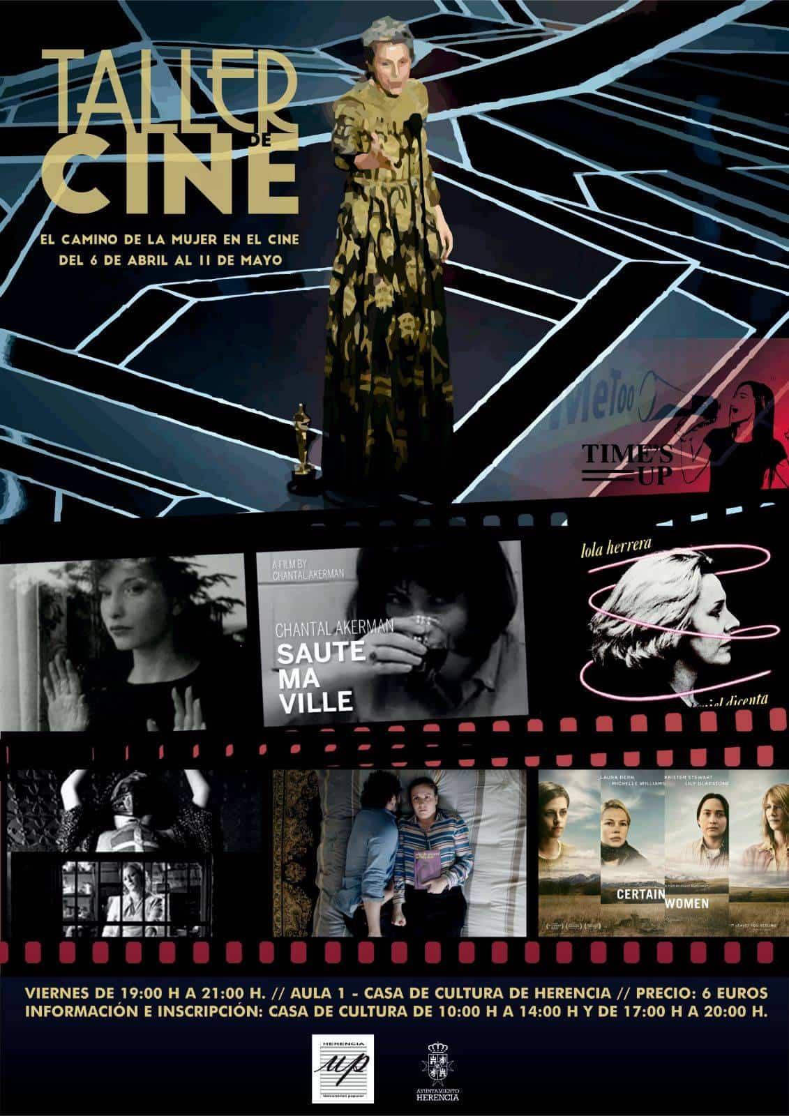taller de cine universidad popular - La Universidad Popular dedica un monográfico a la mujer en el cine
