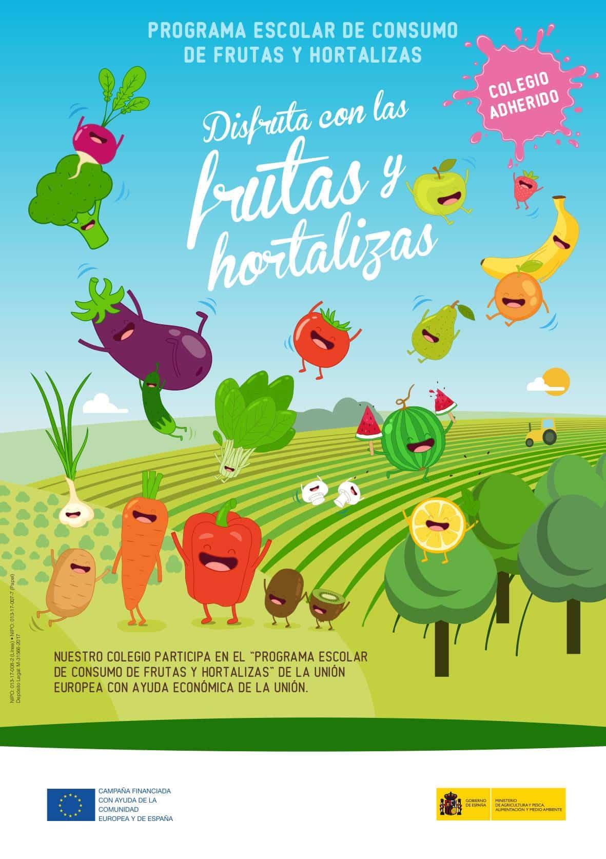 2 grafica frutas y hortalizas tcm8 433398 - Iniciado el plan de consumo de fruta y hortalizas en el CEIP Carrasco Alcalde