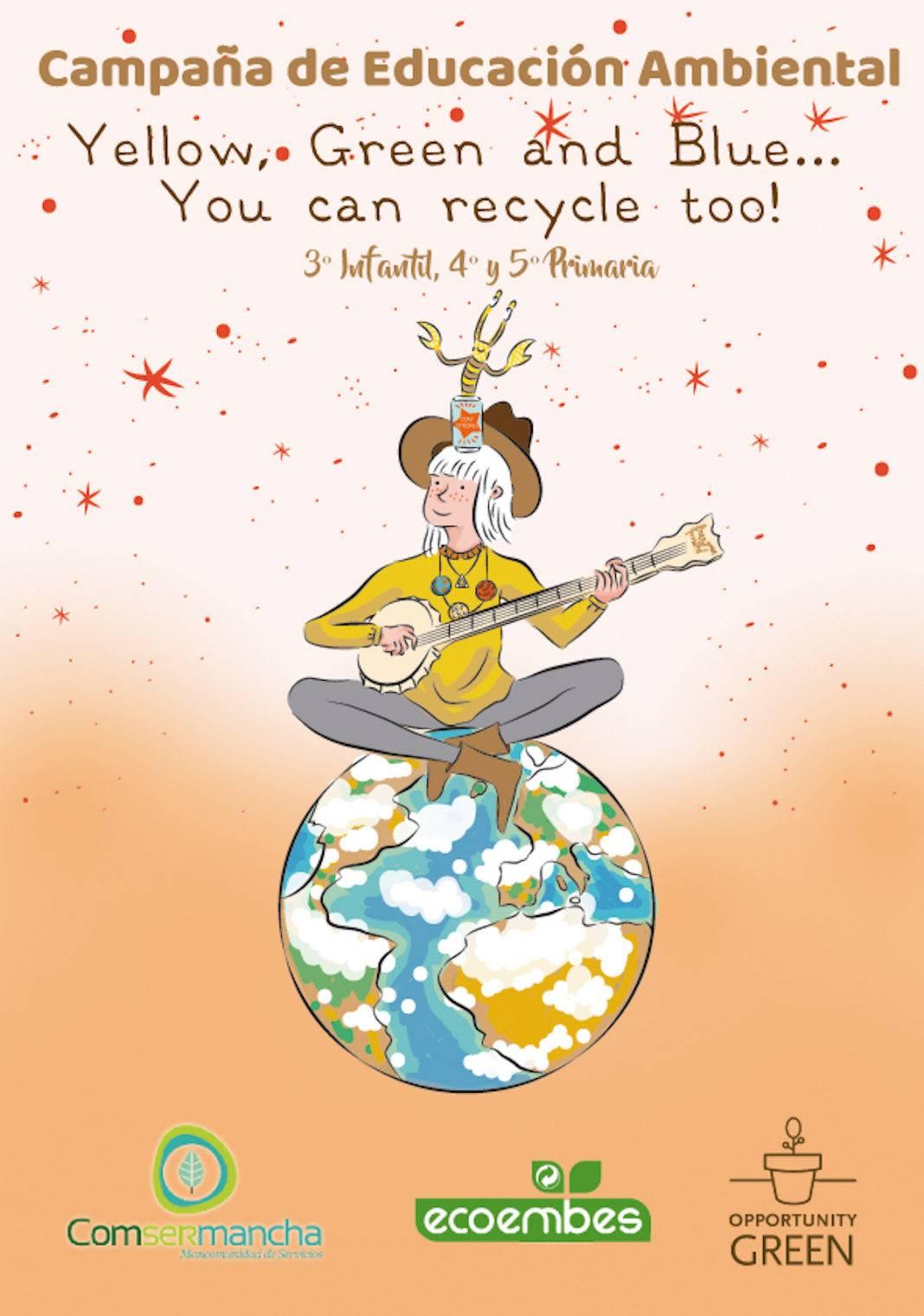 Comsermancha iniciará una Campaña escolar de reciclaje en inglés 4