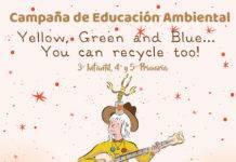 Comsermancha iniciará una Campaña escolar de reciclaje en inglés