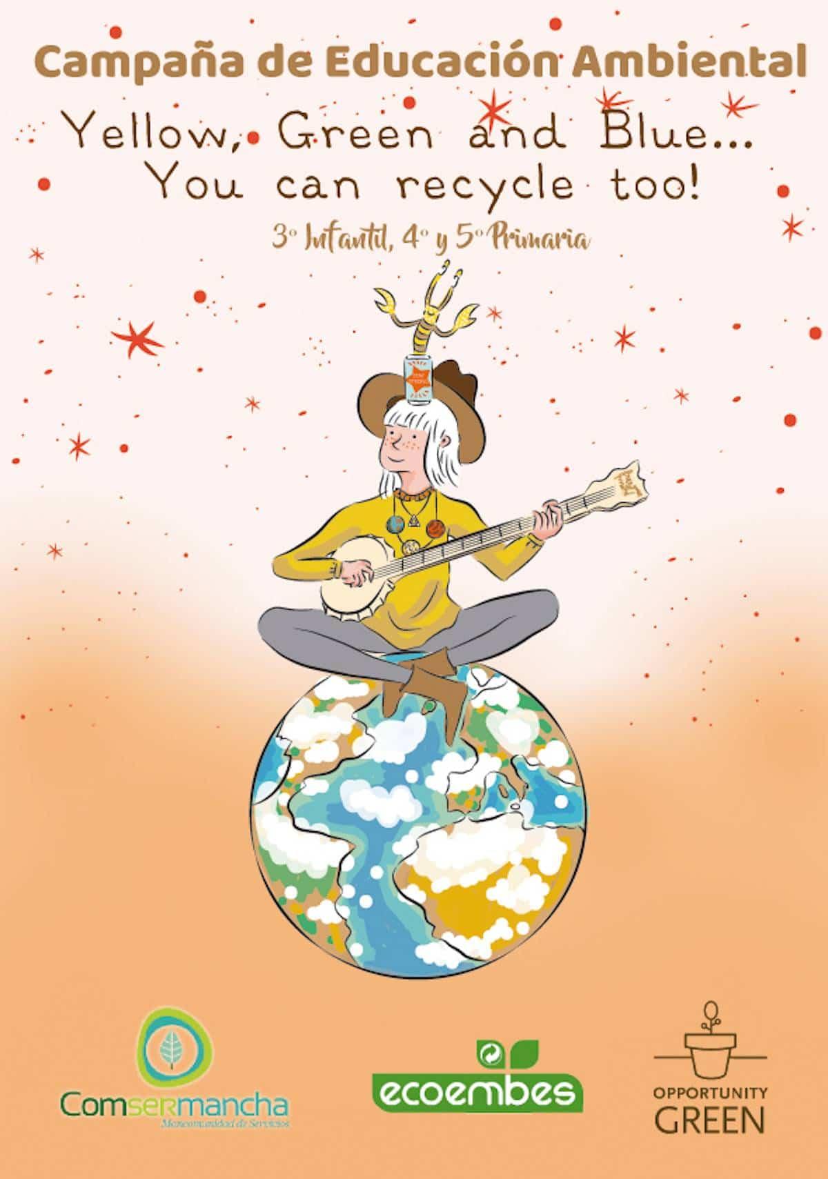 Campana Escolar reciclar en ingles Comsermancha - Comsermancha iniciará una Campaña escolar de reciclaje en inglés