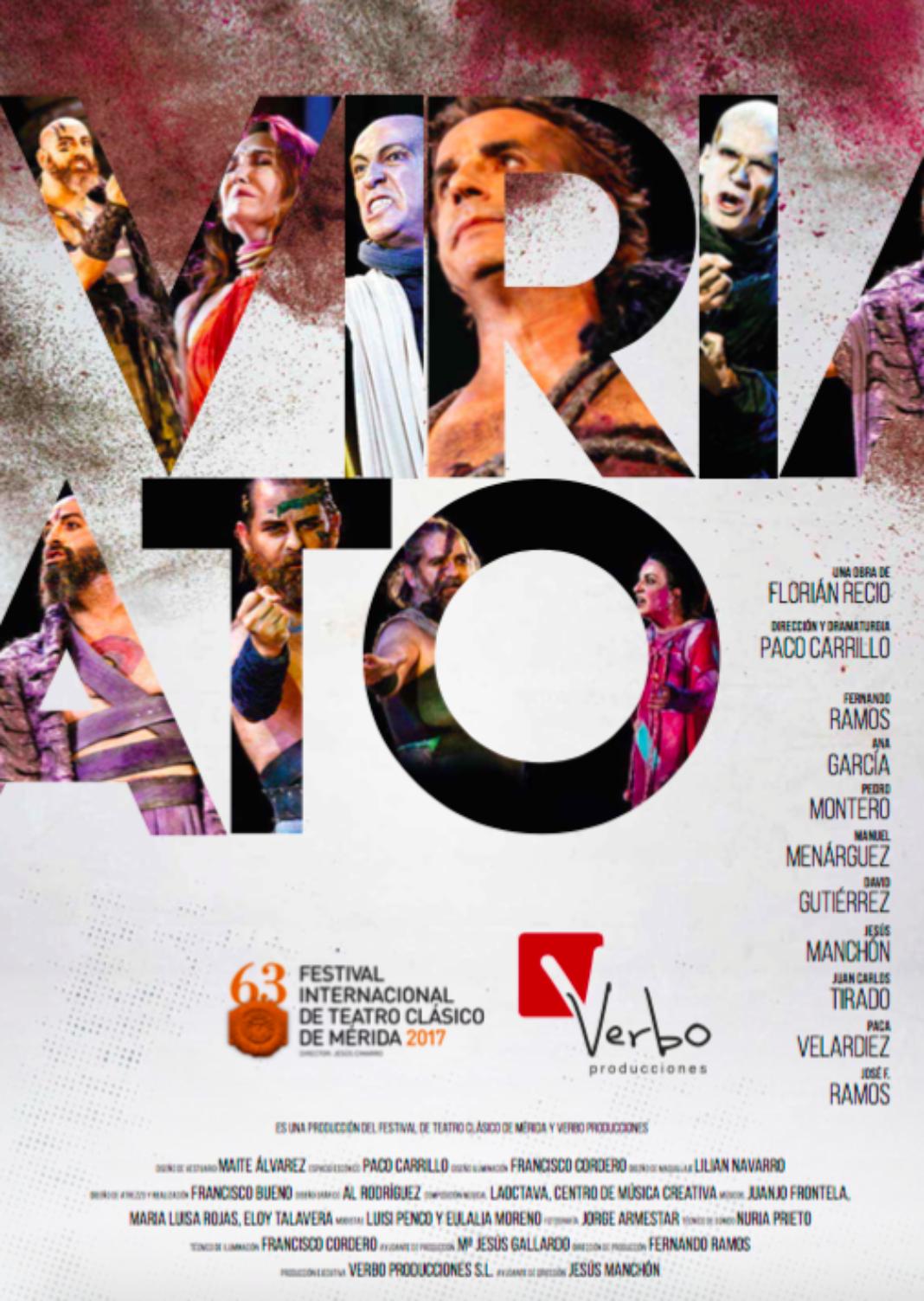Cartel Viriato 1068x1503 - Viriato vuelve a escena en el auditorio de Herencia