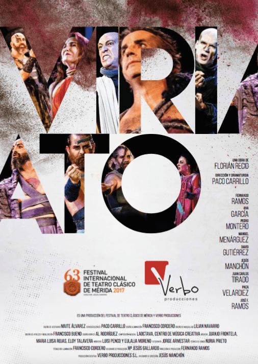 Cartel Viriato - Viriato vuelve a escena en el auditorio de Herencia