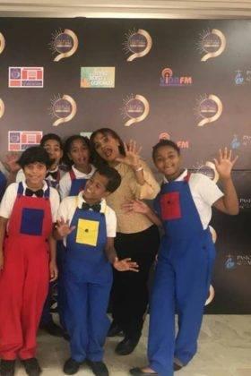 Corito Chichigua premio al ministerio musical infantilde Santo Domingo 14