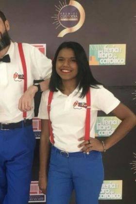 Corito Chichigua premio Custoria 2018 de Republica Dominicana14 280x420 - Corito Chichigua premio al ministerio musical infantilde Santo Domingo