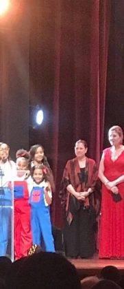 Corito Chichigua premio al ministerio musical infantilde Santo Domingo 22