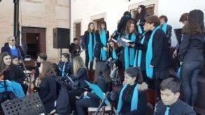 Coro y orquesta jubilar de Herencia en Malagon 293x165 - El Coro y la orquesta Jubilar de Herencia actuó en Malagón