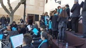 Coro y orquesta jubilar de Herencia en Malagon2