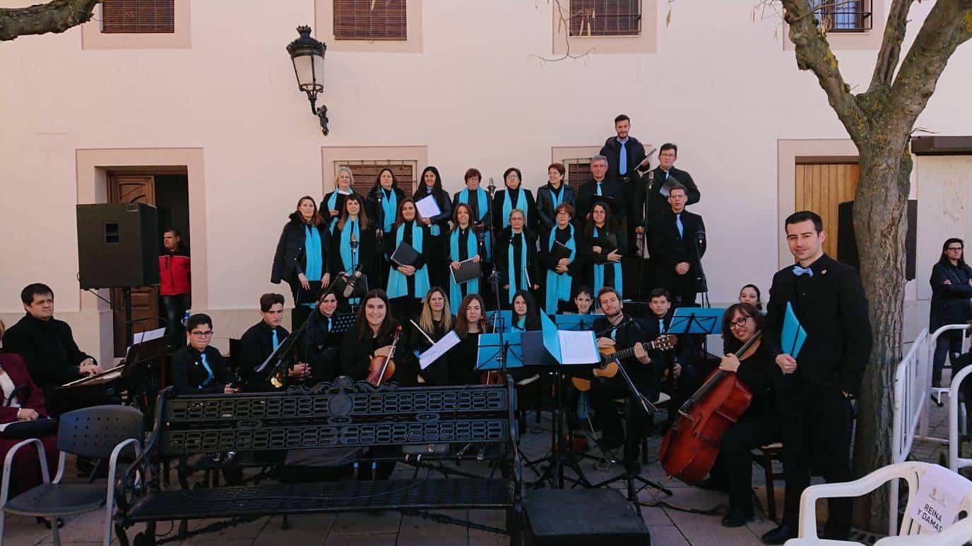 Coro y orquesta jubilar de Herencia en Malagon3 - El Coro y la orquesta Jubilar de Herencia actuó en Malagón