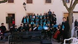 Coro y orquesta jubilar de Herencia en Malagon6